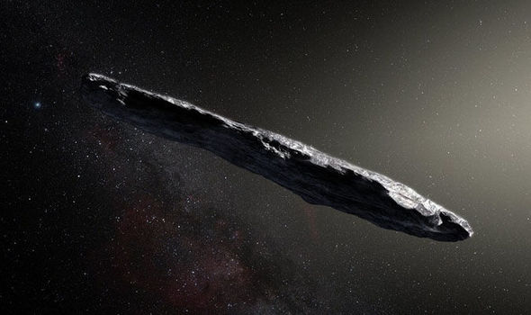 ALIEN asteroid Oumuamua captured entering Earths solar system in stunning pictures