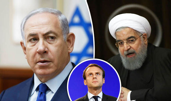 Macron urges Iran and Israel to work together to ease Middle East tensions