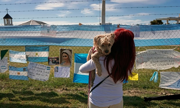 Explosion detected near site of missing Argentinian submarine, navy confirms