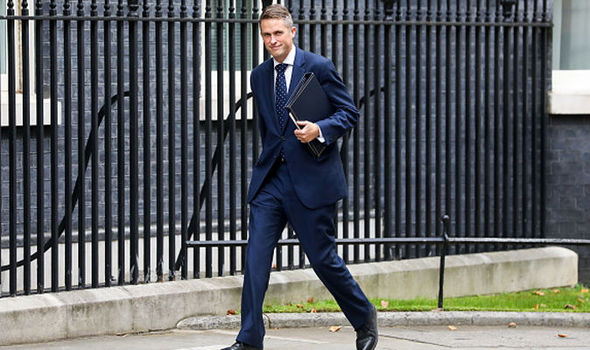 BREAKING: Gavin Williamson replaces Sir Michael Fallon as Defence Secretary