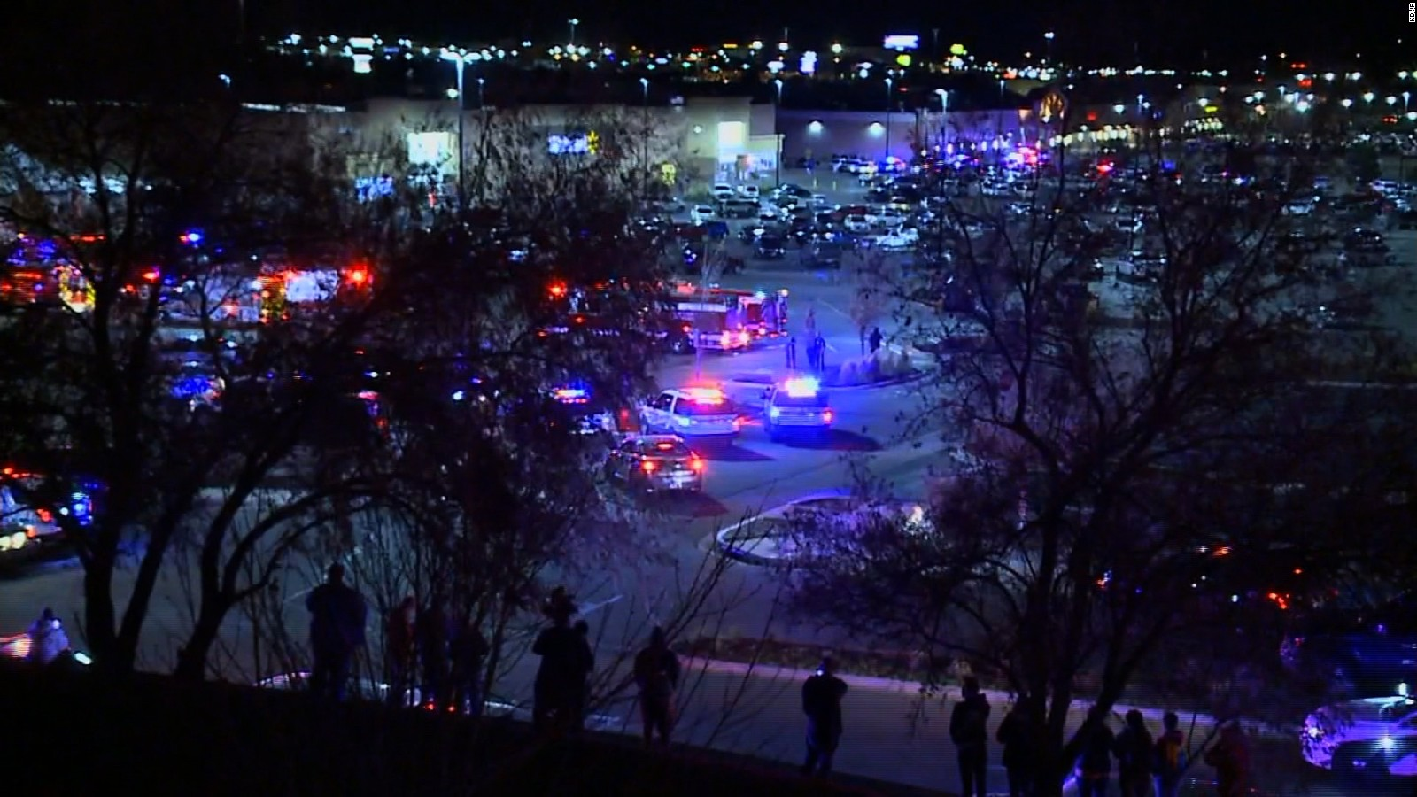 3 dead in shooting at Walmart in Colorado