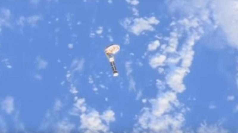 Wireless-in-Space: NASA testing device for returning spacecraft to Earth