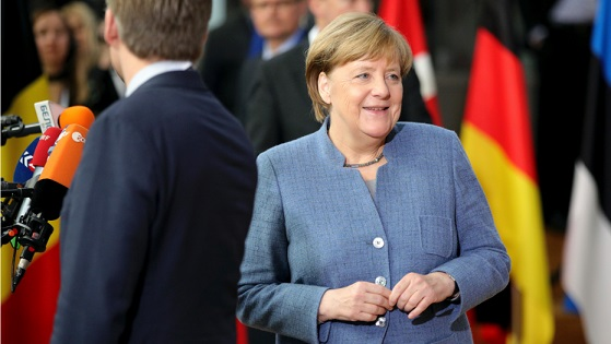 Germanys Merkel speaks out against new election