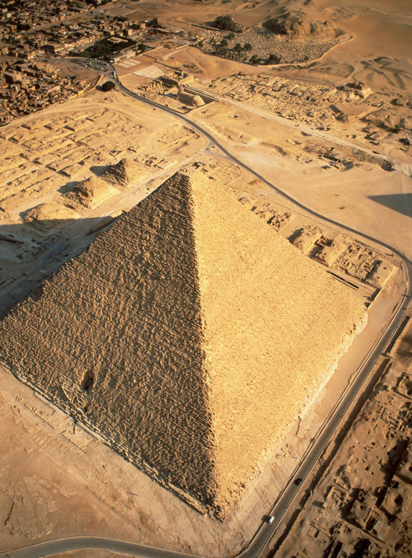 REVEALED: Scientists discover HUGE void size of a plane inside Great Pyramid of Giza