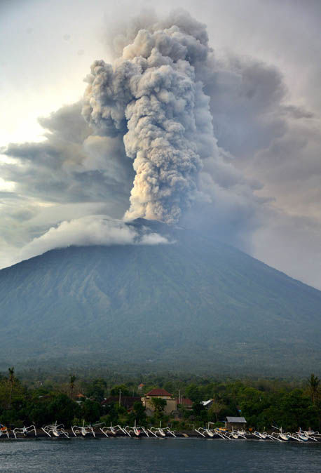 Bali volcano REVERSE global warming: NASA say Mount Agung could plunge earth into ice age