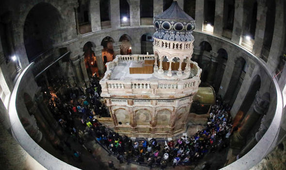 Jesus Christ tomb shock: Test results on holy site add PROOF tomb IS that of Christ