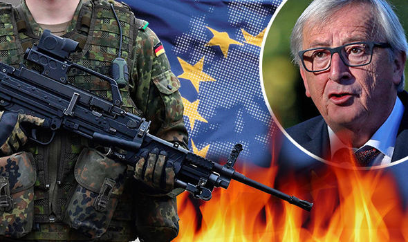 Shock German Army report predicts collapse of EU and entire West alliance by 2040