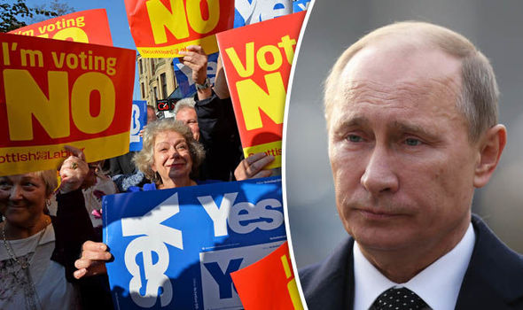 Russias meddling in Scottish politics discovered by accident