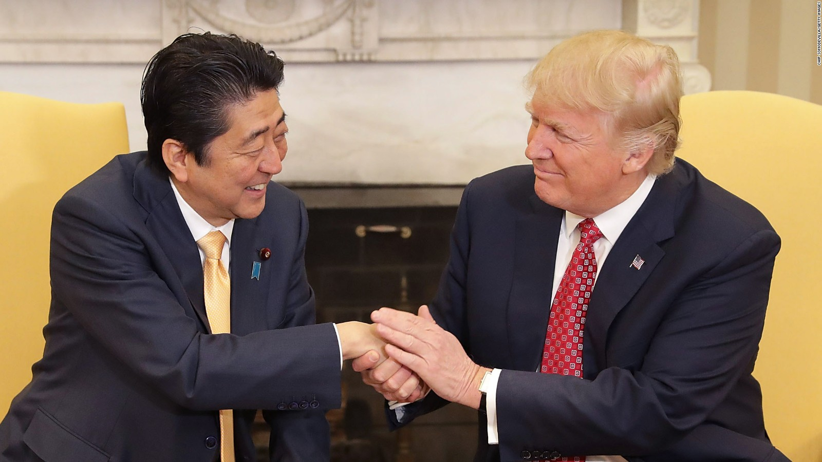 Trump, Abe friendship remains on par