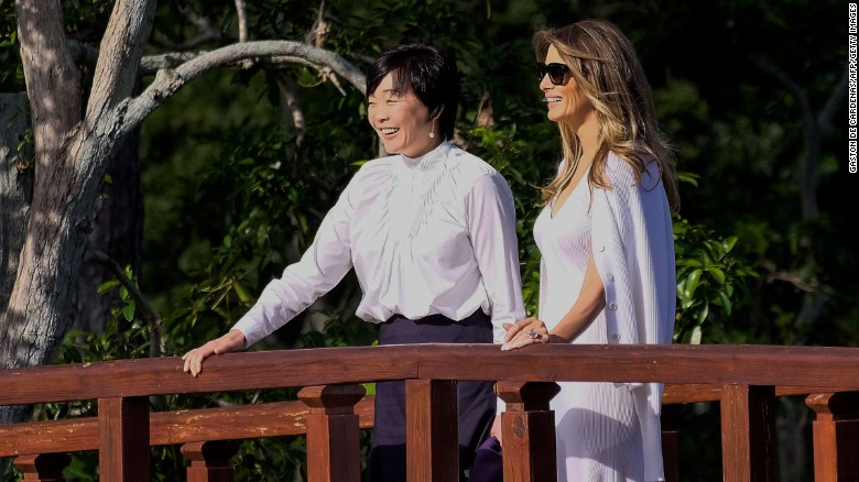 Melania Trumps got her own kind of fashion diplomacy