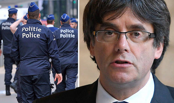 BREAKING: Catalonia leader Puigdemont 'hands himself in to Belgian police'