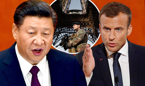 China warns France: PROTECT our tourists or well tell the world Paris is NOT safe