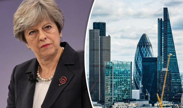 EU plot to shake the UK money tree and snatch business as they try to DELAY Brexit