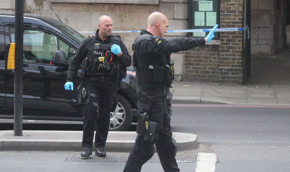 BREAKING: Armed police swoop on City of London as incident declared