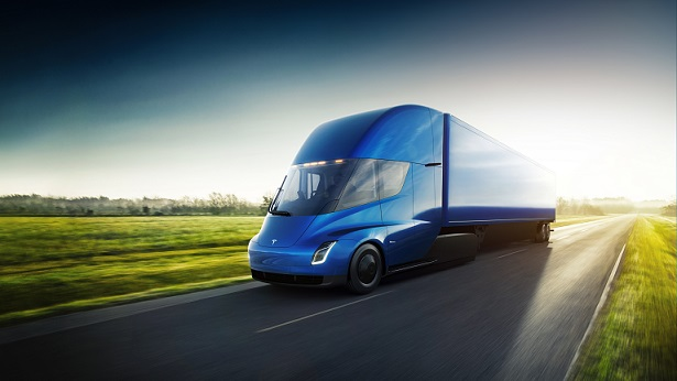 Elusive Tesla semi truck spotted taking a cruise