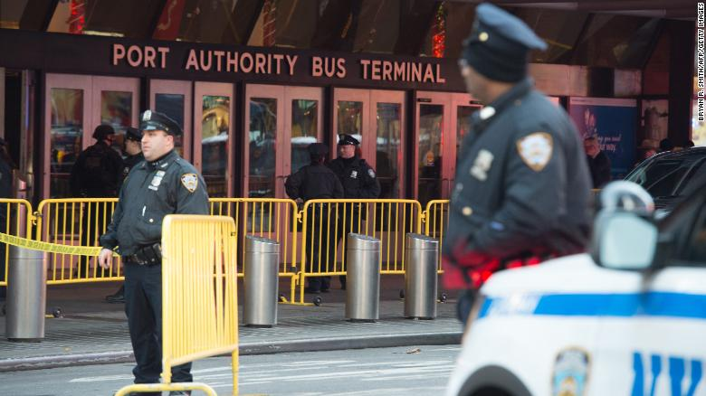 New York explosion: Man in custody after attempted terrorist attack