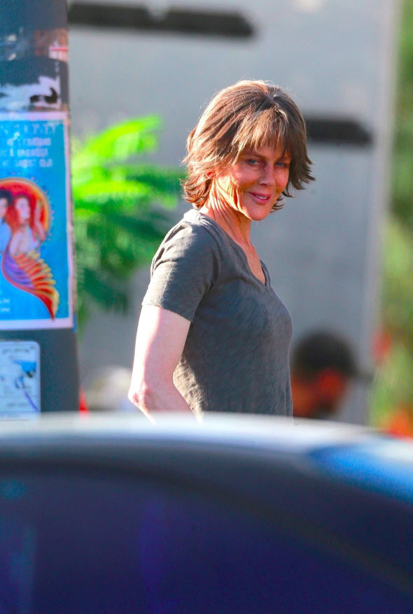 Nicole Kidman looks UNRECOGNISABLE on the set of new film Destroyer