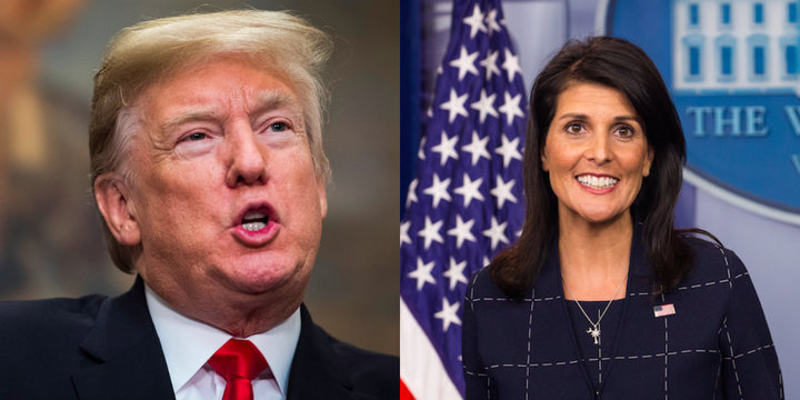 Trump Reportedly Fuming Over Nikki Haley's Comments Supporting His Accusers