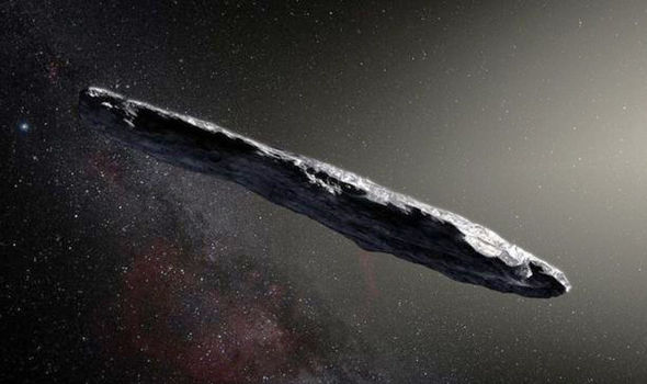 Stephen Hawking confirms this 200,000mph cigar-object in space may be alien spacecraft