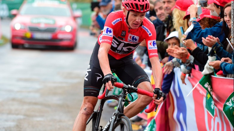 Chris Froome: Tour de France champion failed a drug test
