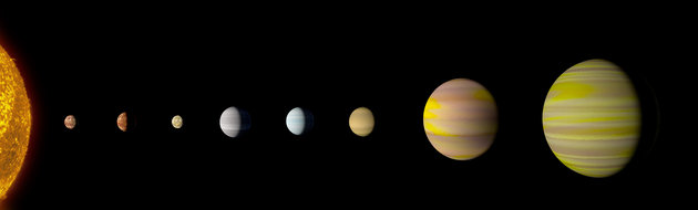 NASA And Googles AI Discover First Solar System Other Than Our Own With Eight Planets