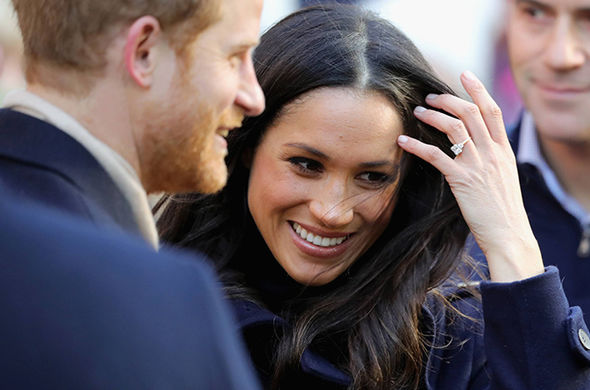 Meghan Markle and Harry FIRST PICTURES: Meghan attends royal engagement in Nottingham