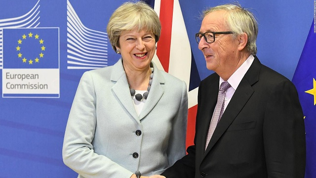 EU leaders agree to second stage of Brexit talks