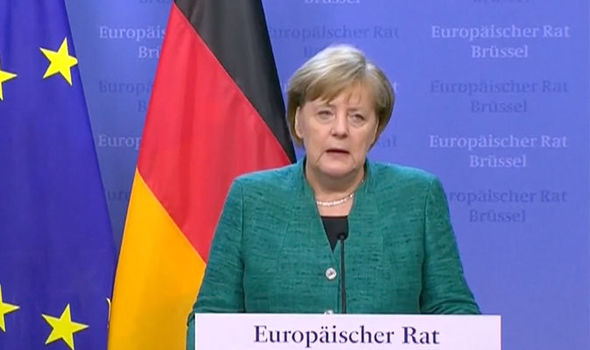 Merkel reveals MASTER PLAN' for EU true union and integration