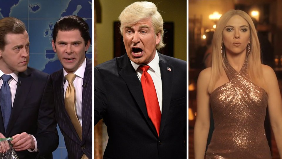 SNL in the White House: 10 Most Memorable Trump Sketches of 2017