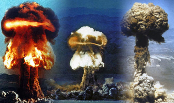 WATCH: US nuclear tests show what END OF THE WORLD could look like if WW3 broke out
