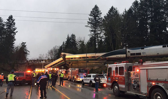 Washington train crash: At least 3 dead as Amtrak train derails and plummets off bridge