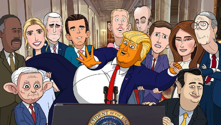 Donald Trump Begs for an Emmy in Showtimes Cartoon President Teaser