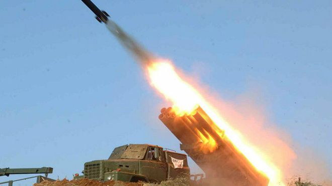 Yemen rebels fire ballistic missile on Saudi capital, state TV reports