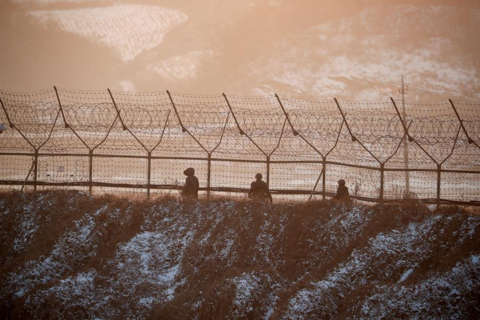 Shots fired along demilitarized zone as North Korean soldier defects
