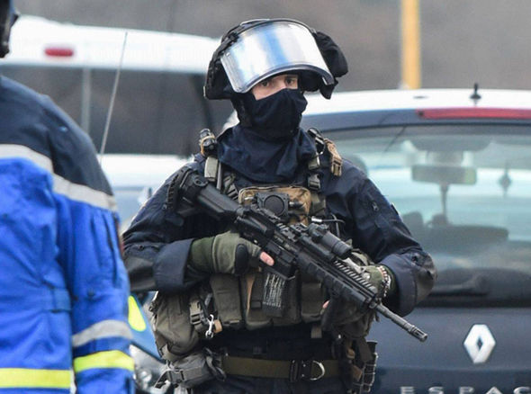 BREAKING: Two police officers shot in France - siege underway
