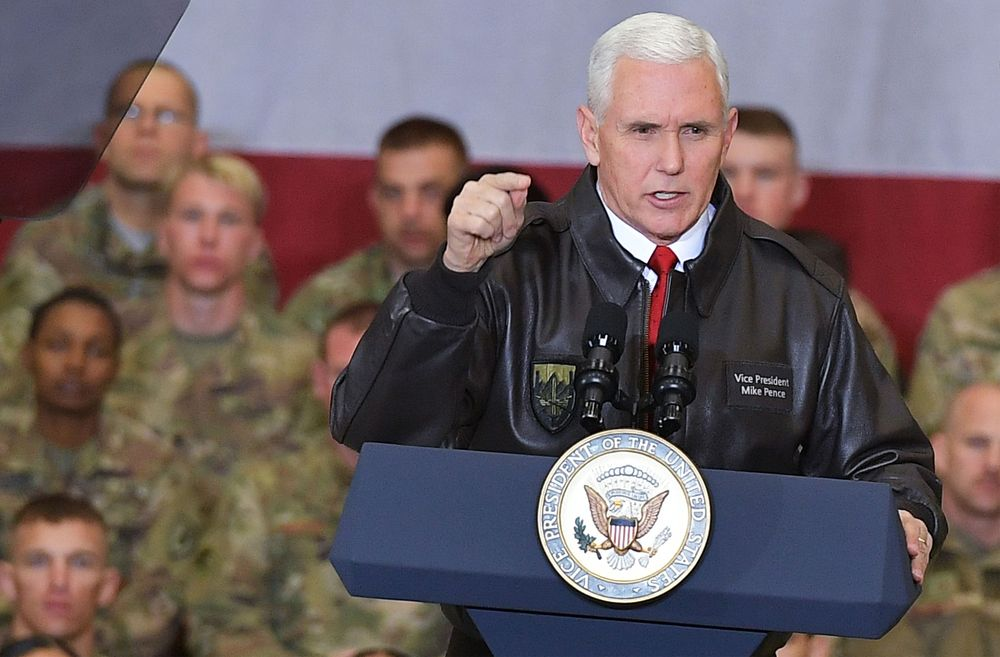Pence pays surprise visit to Kabul