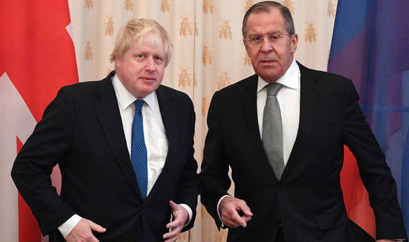 Boris Johnson in Russia: UK-Russo relations at a low level Lavrov warns Britain