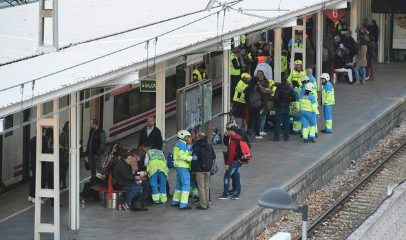 Madrid train crash: Up to 45 people injured and four seriously hurt near Spain capital