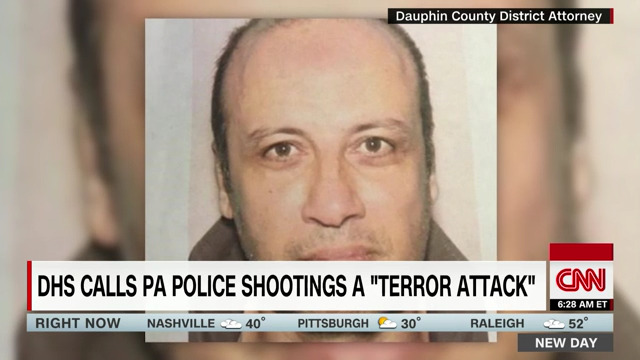 Pennsylvania police shootings were terror attack, DHS says