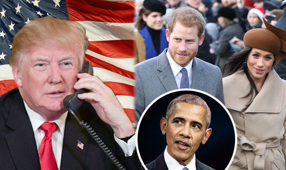 Donald Trump could snub UK visit if Obama attends Prince Harry and Meghan Markle wedding