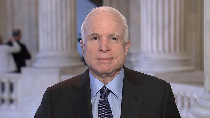 Cardinals Fitzgerald writes Christmas tribute to John McCain