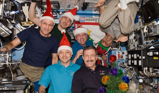 Christmas at the Space Station: Astronauts Celebrate with New Tree, Gifts from Earth