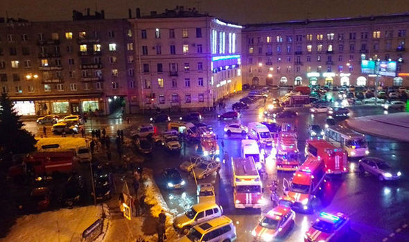 St Petersburg EXPLOSION video: Aftermath after potential mass homicide in Russia