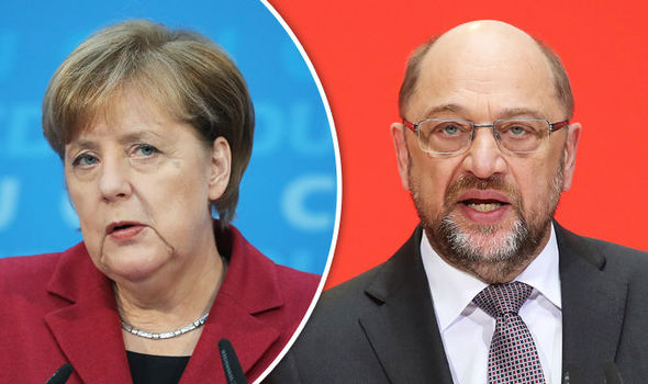 End of Merkel: Voters want German Chancellor to QUIT before term ends, shock poll claims