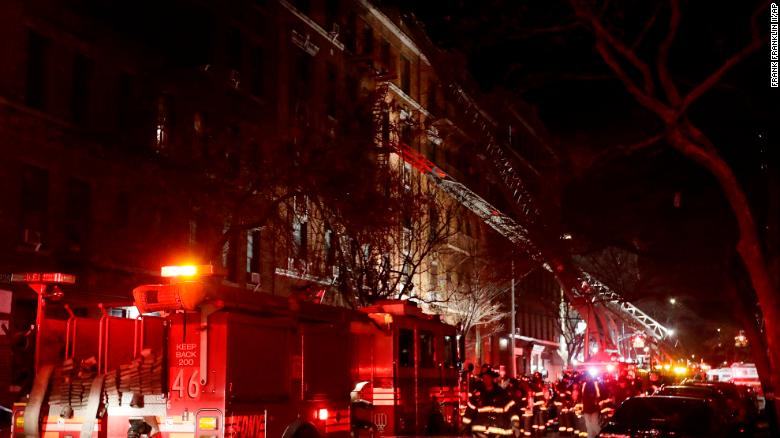Worst NYC fire in 25 years kills at least 12, injures 4 people