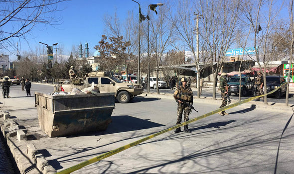 40 killed and dozens wounded in suicide bomb blast