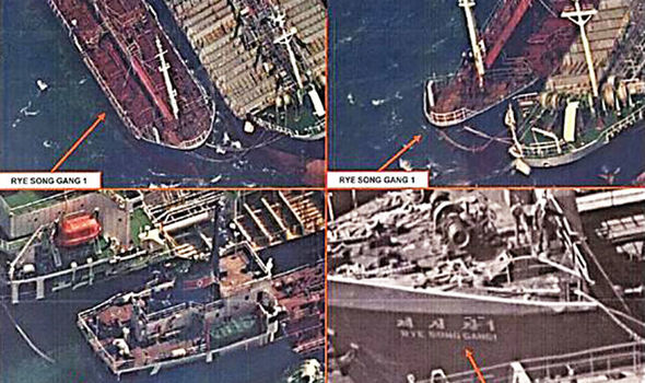 China selling oil to North Korea in shocking satellite images DESPITE sanctions