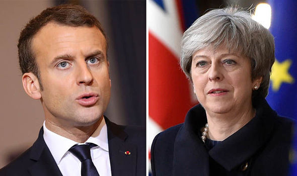 Macron to DEMAND Britain pay for French border controls after Brexit