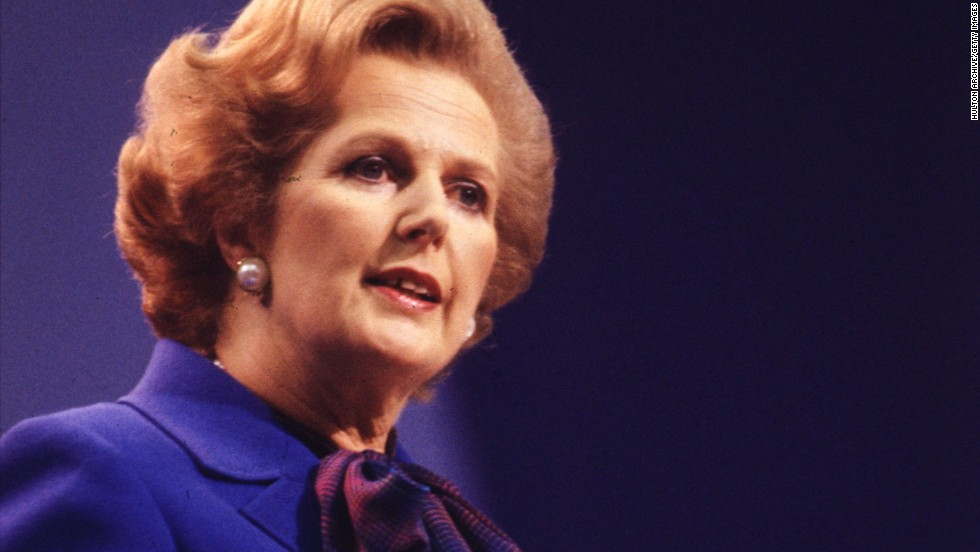 Former British PM Margaret Thatcher refused to fly with a panda