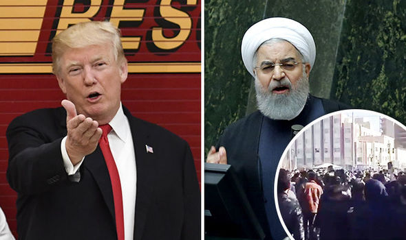 The world is watching - Trump SLAMS Iran over protester arrests amid calls for revolution